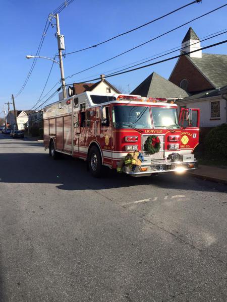 RIT Assist To Coatesville City - Lionville Fire Company