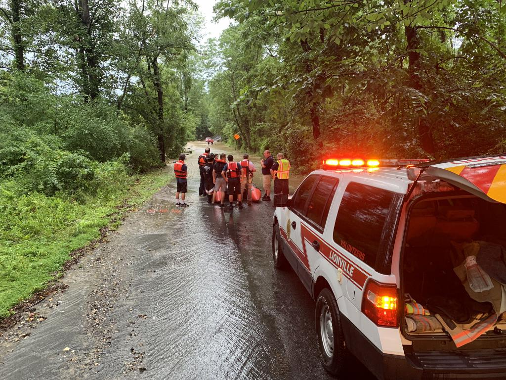 Water Rescue - Davis Road